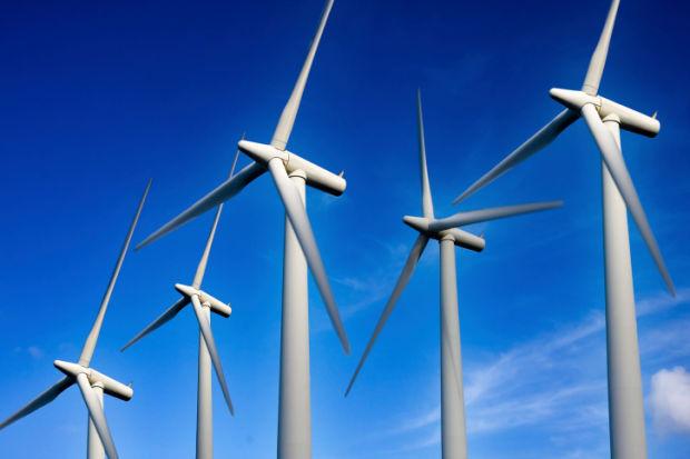 wind turbine wind energy stockimage