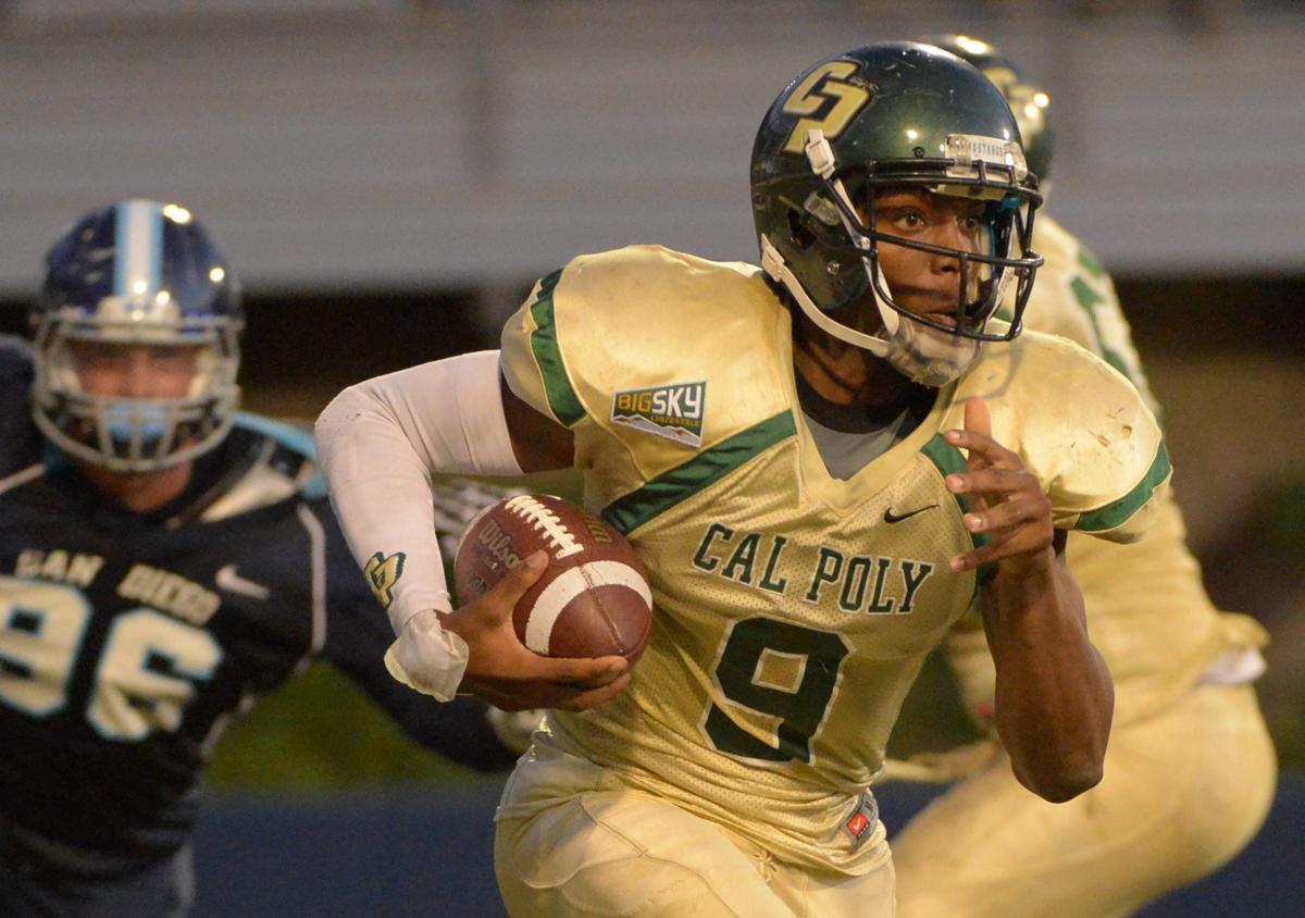 Cal Poly quarterback