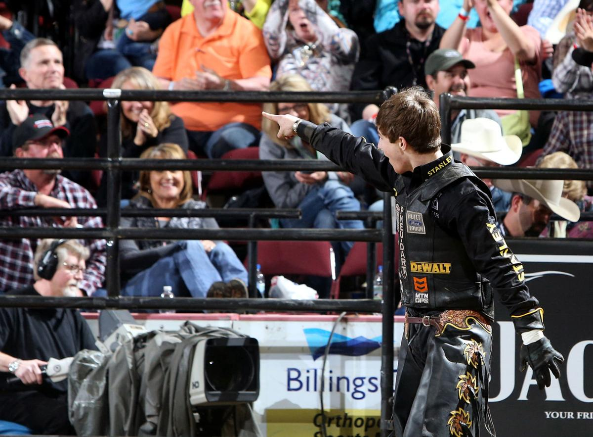 A magnetism about him' - Montana's Jess Lockwood, youngest bull