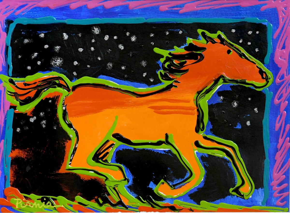 A Carousel For Missoula To Sell 15 Larry Pirnie Paintings This