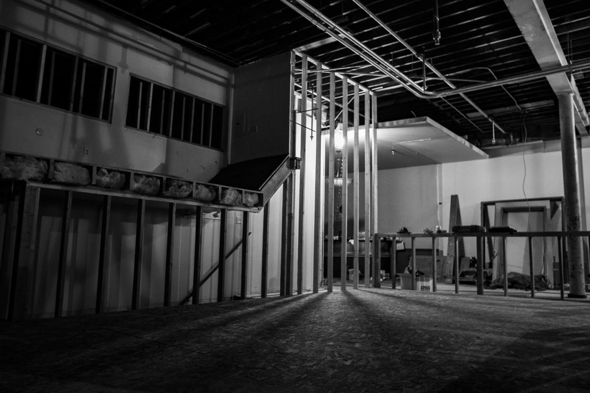 Ground floor of the new ZACC building