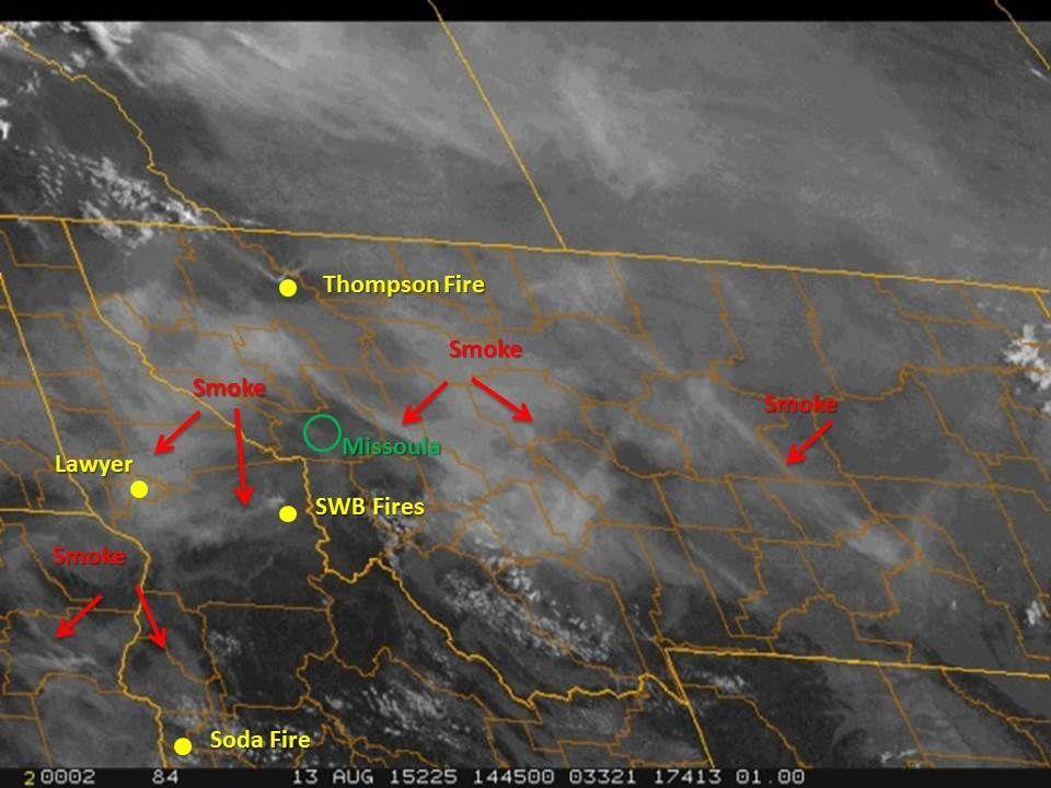 Thursday smoke map