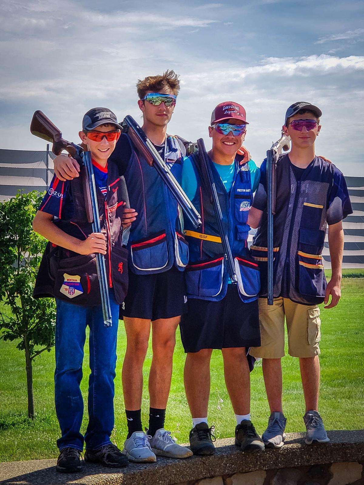 Austin Ward and Smokin Guns team