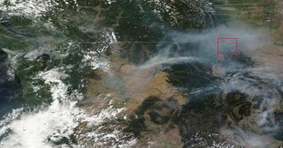 Smoke in Glacier Park (IR copy)