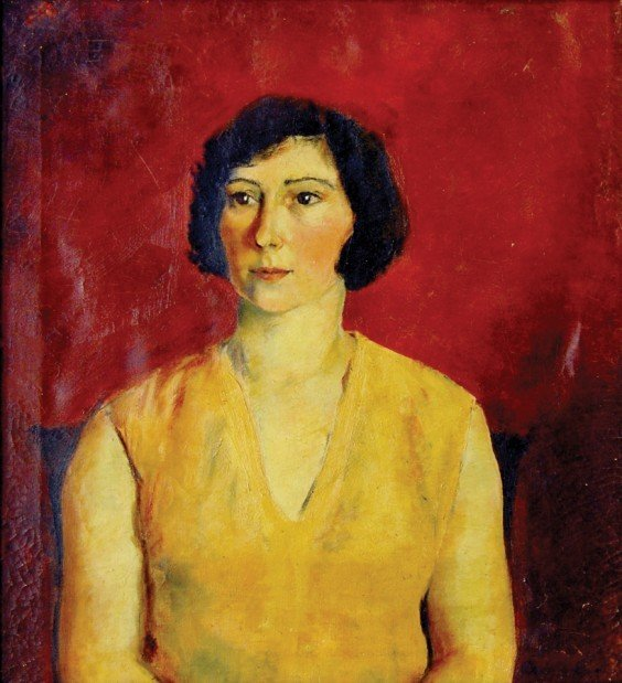 A painting by Frances Carroll Brown