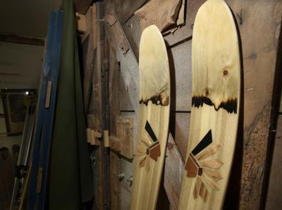 'Usable artwork': Missoula high school teacher helps kids craft custom skis