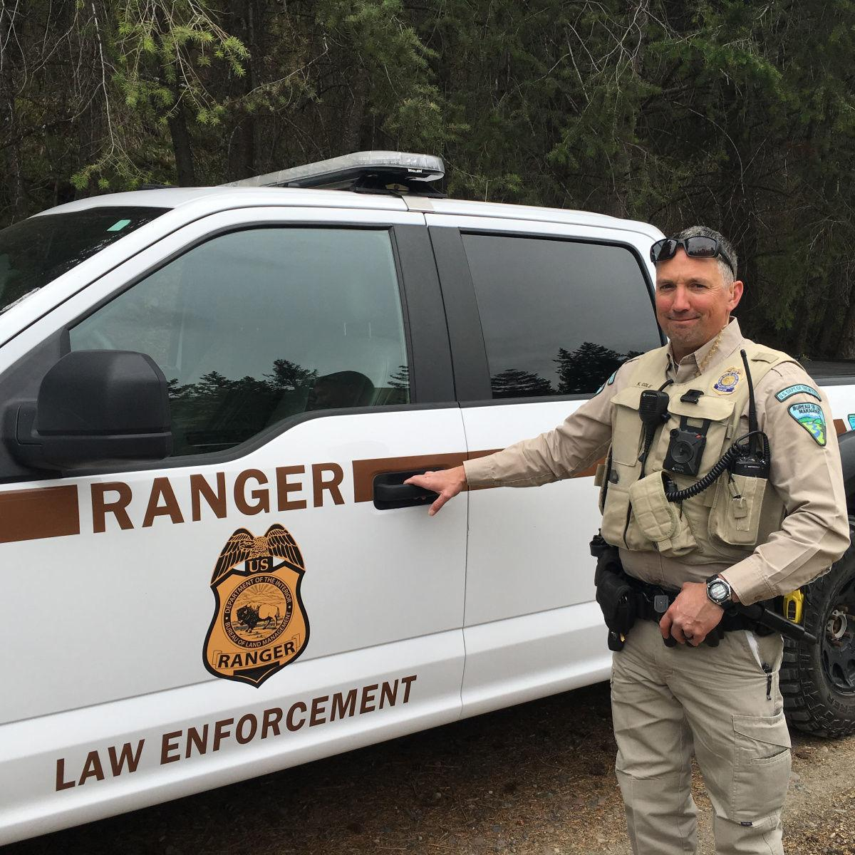 BLM Ranger Kelly Cole