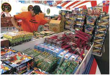 Skyrocketing: Cost of Independence Day pyrotechnics going up for many retailers