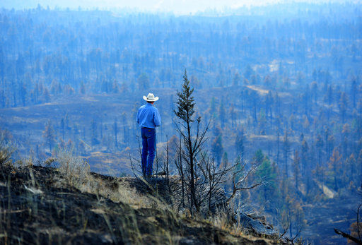 Colorado firefighters battling Montana wildfire moved for safety