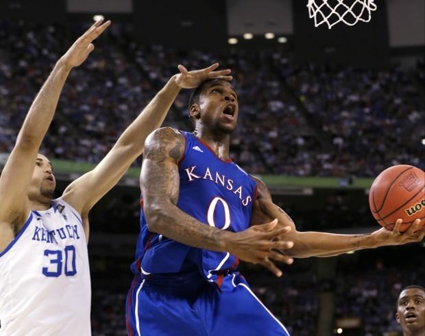 Kentucky Downs Kansas For Ncaa Championship 67 59 Basketball