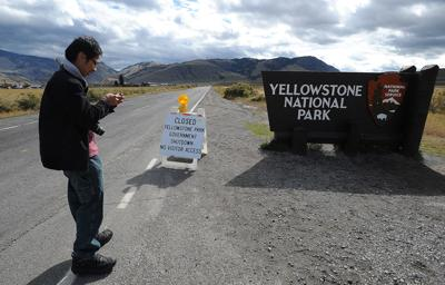 Yellowstone National Park during 2013 government shutdown