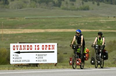 Ovando lays out the welcome mat for bicycle tourists