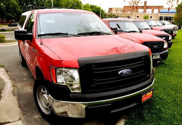 """MCT's """"little red trucks"""""""