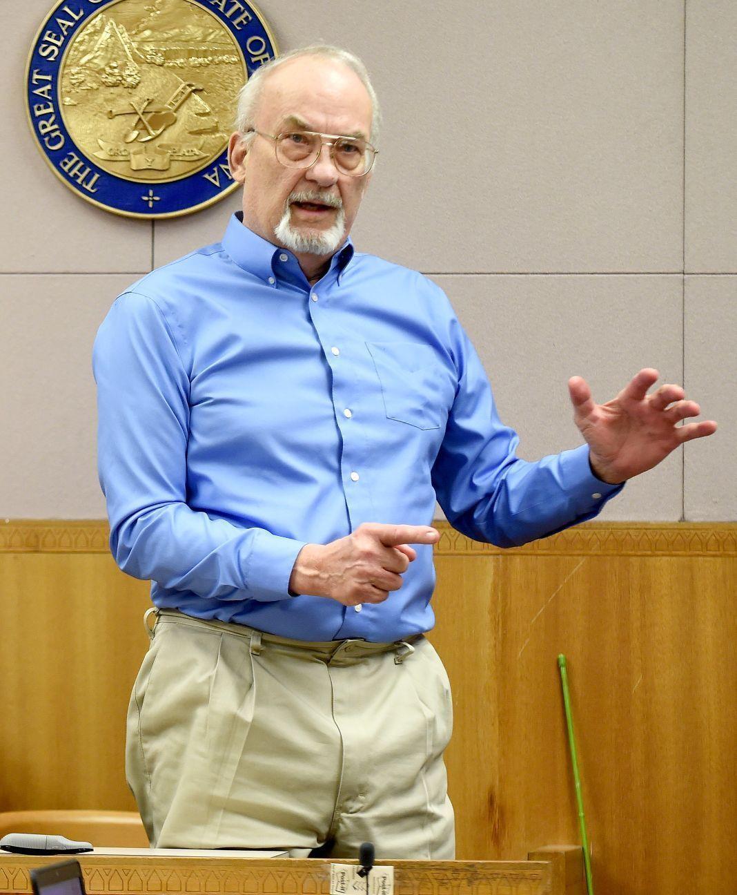 James Sindelar testifies