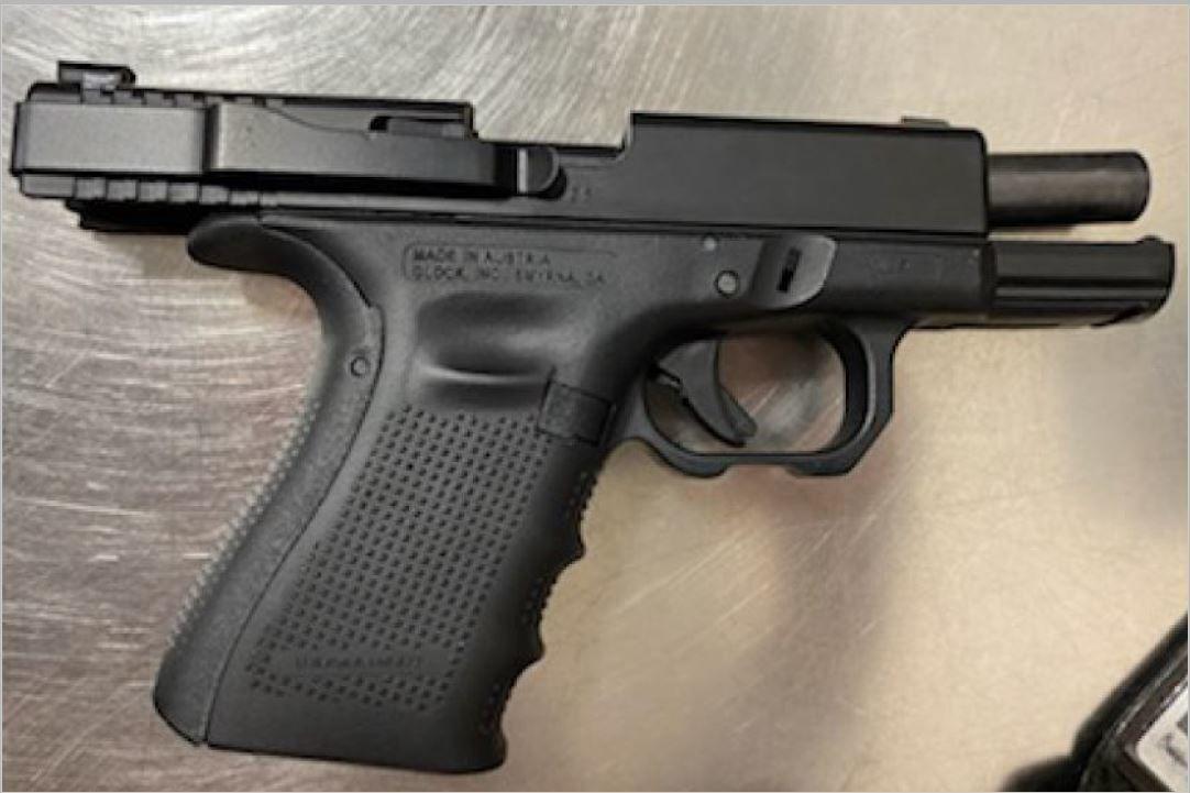 Billings airport firearm