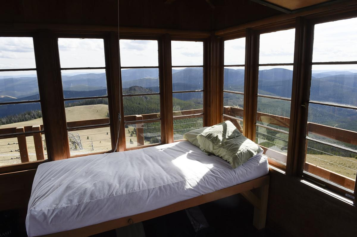 accommodations with a view  granite butte lookout tower