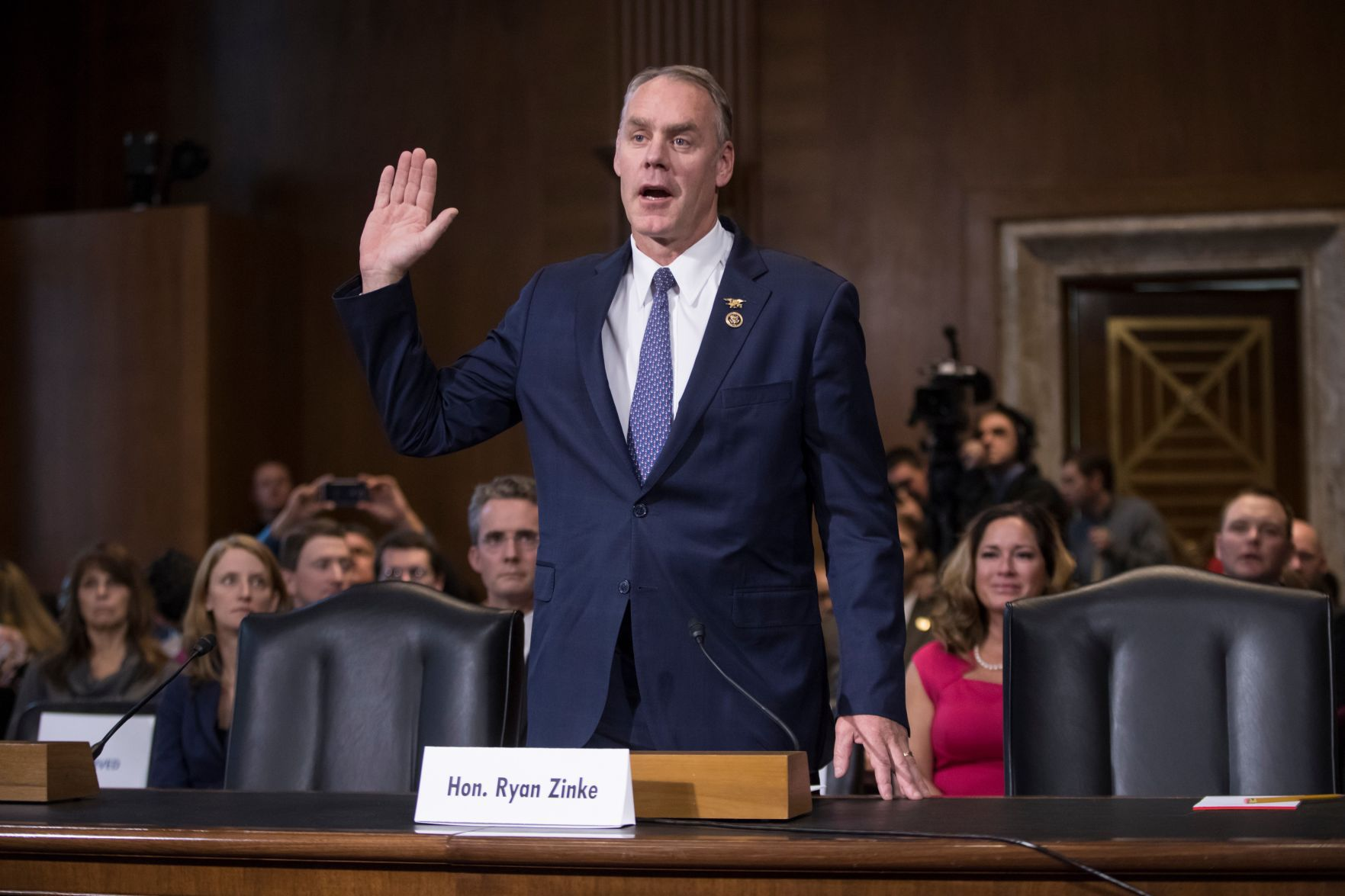 Interior nominee Zinke clears Senate hurdle on way to confirmation