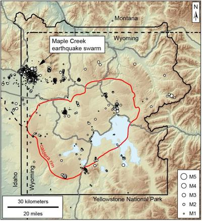 Earthquake swarms