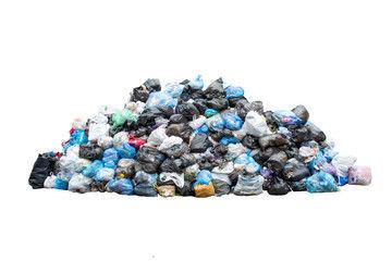 Junk trash garbage pile