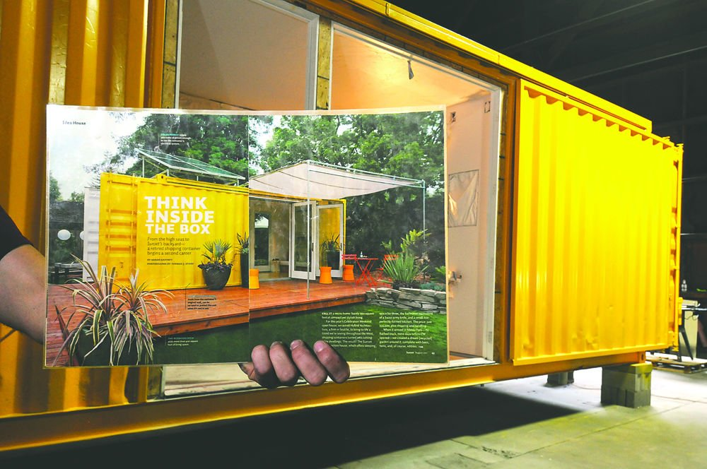 Missoula based montainer creates homes from recycled metal - Container homes chicago ...