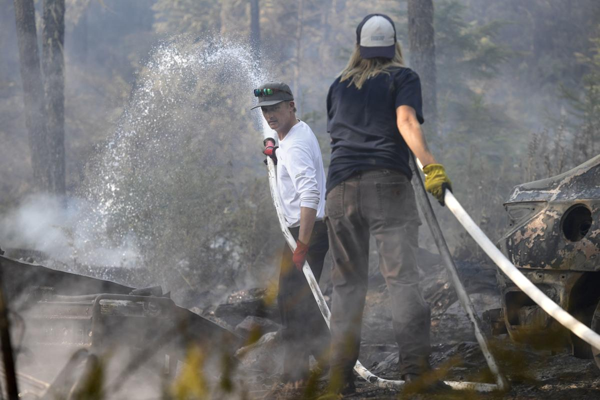 Battling hot spots at remaining cabins