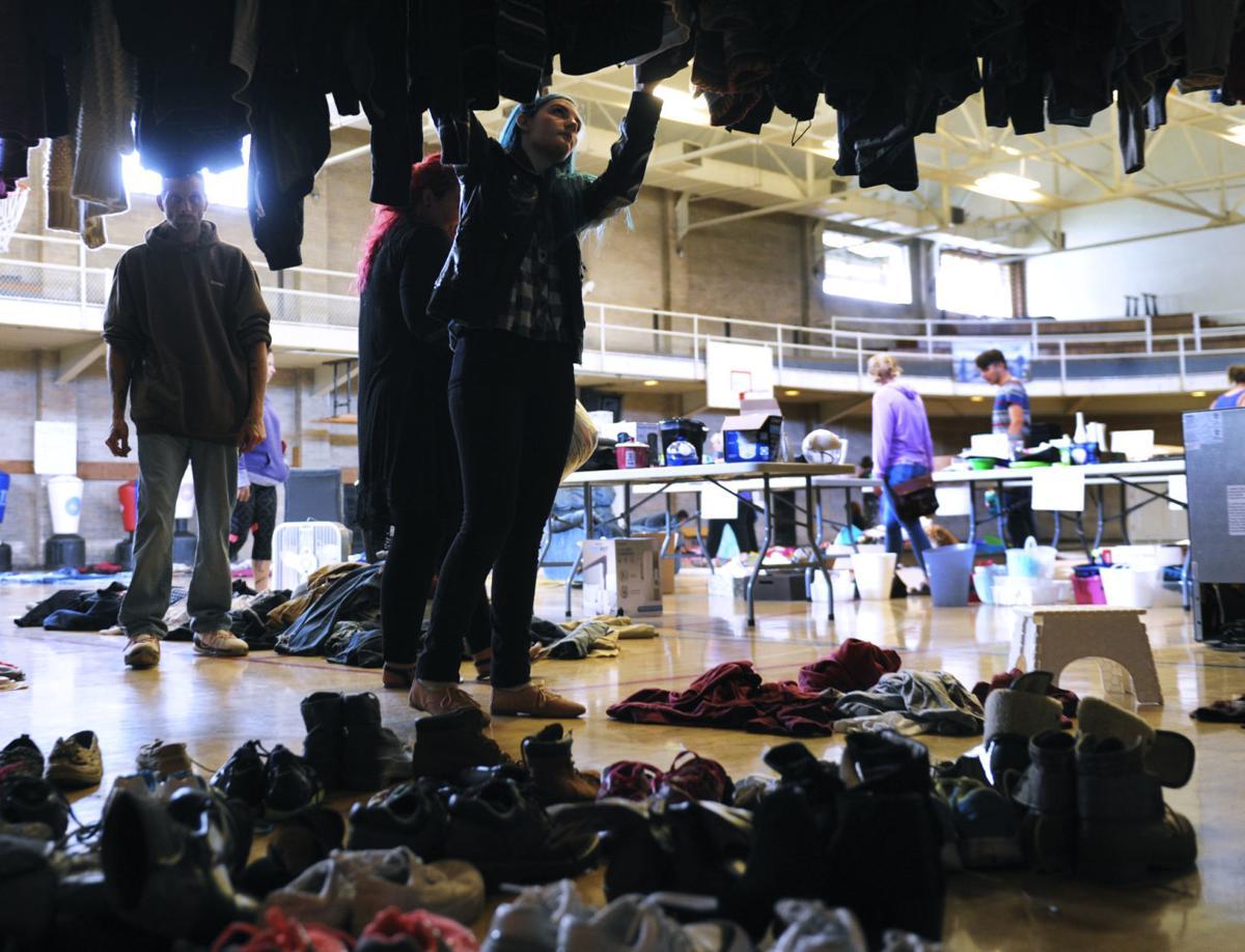 campus thrift sale 1