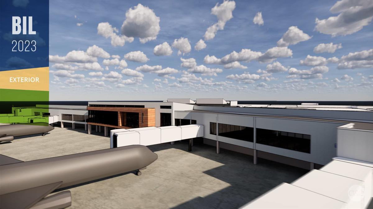 Billings Logan International Airport expansion — Exterior