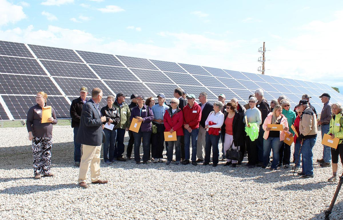 Clean energy: Governor attends REC Valley Solar project