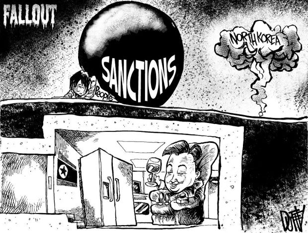 ideas for garage sale ads - CARTOON Fallout from sanctions will fall heaviest on