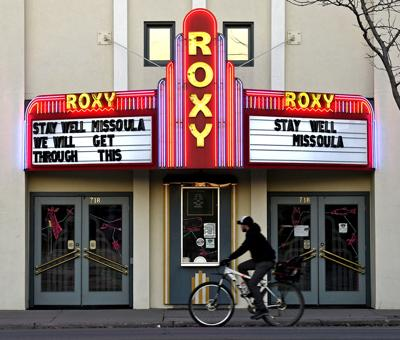 Roxy Theater Marquee