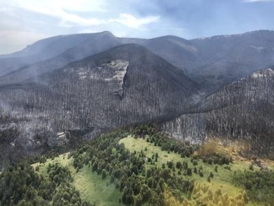 Crooked Creek fire Saturday