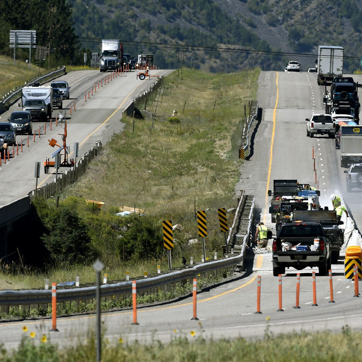 MDT: I-90 eastbound travelers should find alternate route