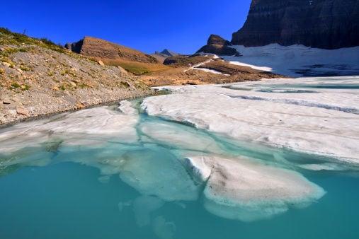Grinnell Glacier pond
