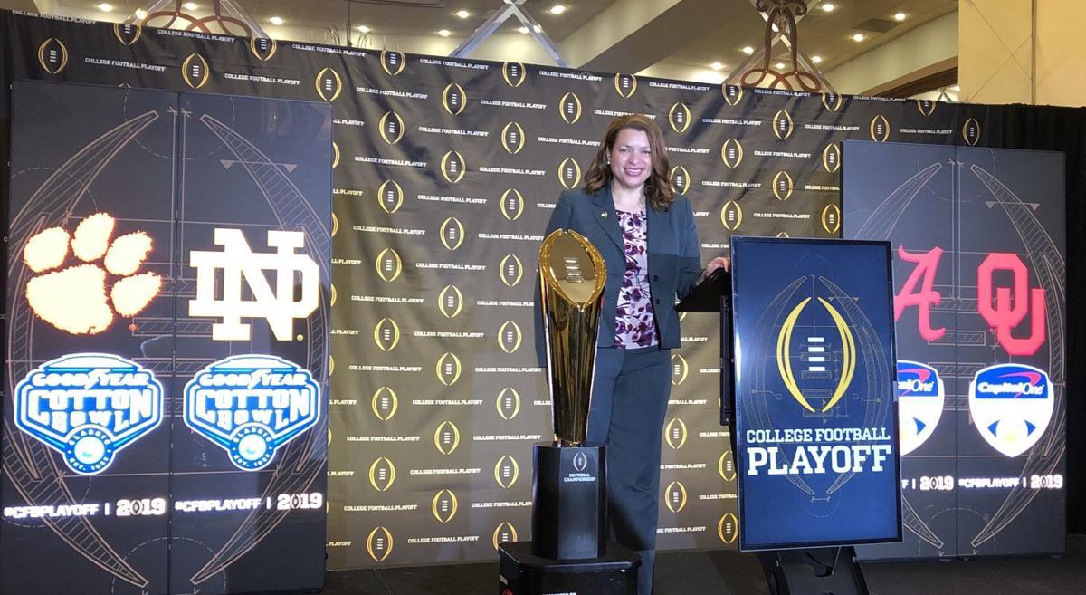 Andrea Williams College Football Playoff 1