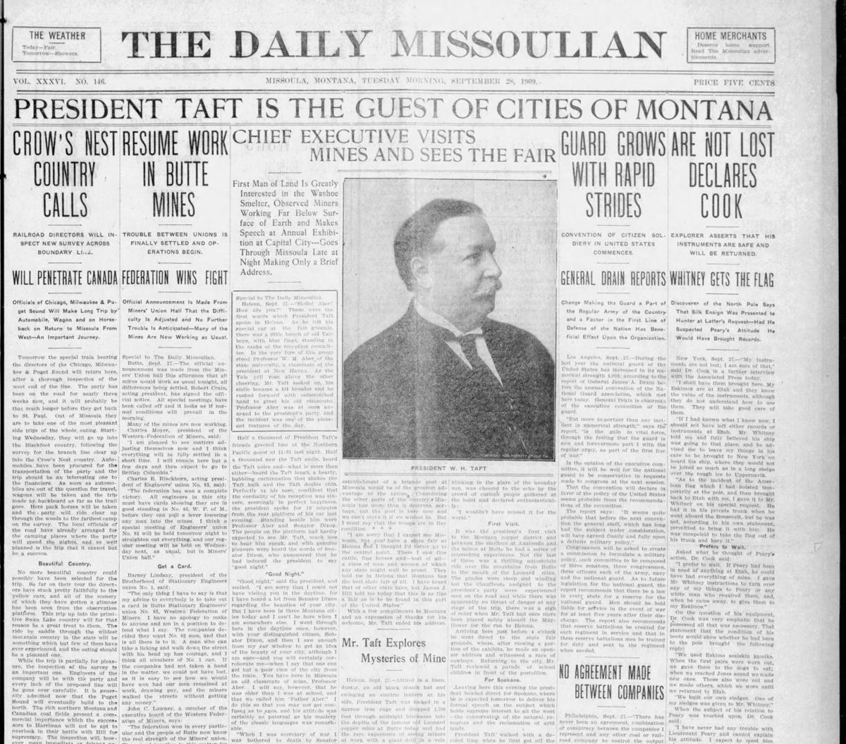 Taft 1909