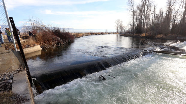 Supply Ditch Diversion Dam