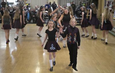 Missoula Irish Dancers perform at Senior Center