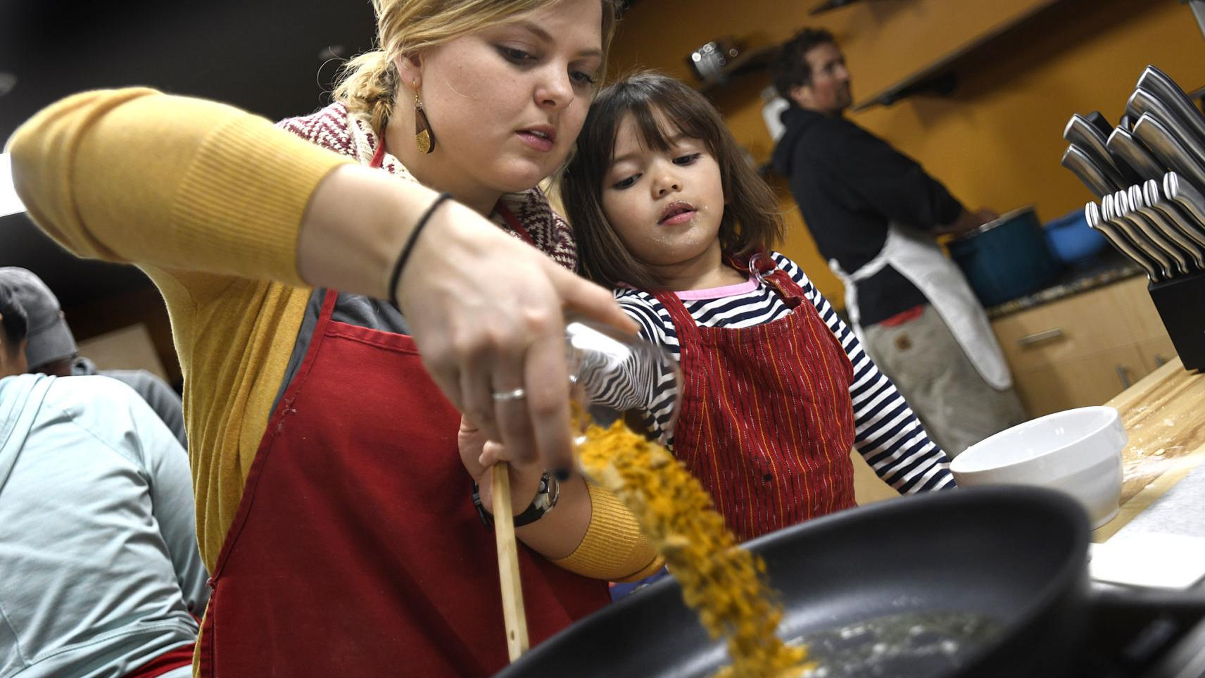Cooking classes at Missoula Food Bank encourage experimentation, new friendships