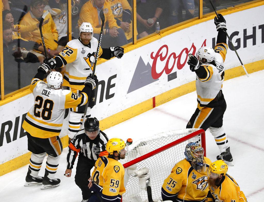 Stanley Cup Penguins Predators Hockey