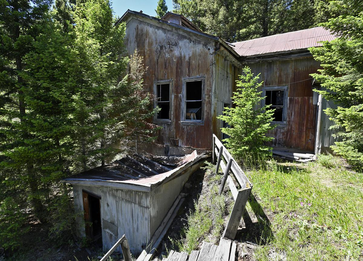 Reviving old haunts: Saving the last structure in a nearly forgotten