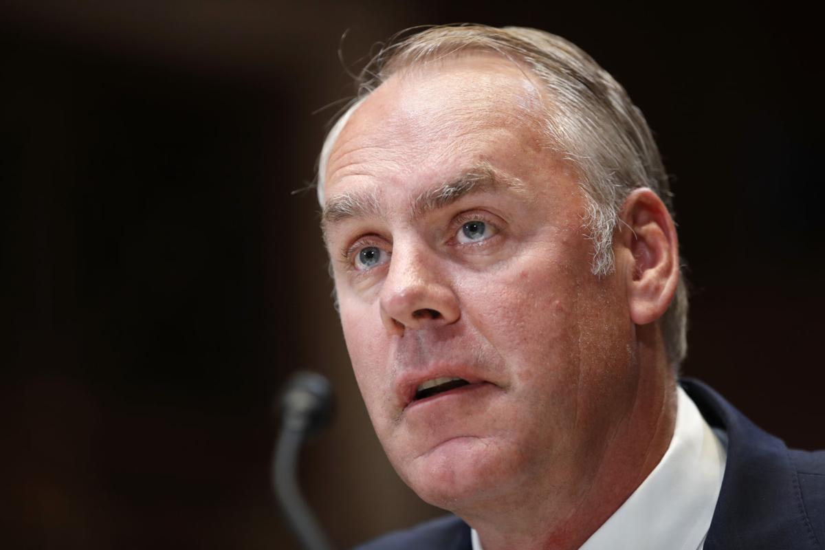 Zinke testifies at Senate