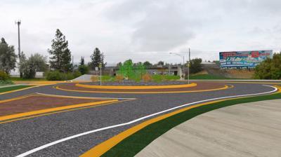 Van Buren interchange rendering