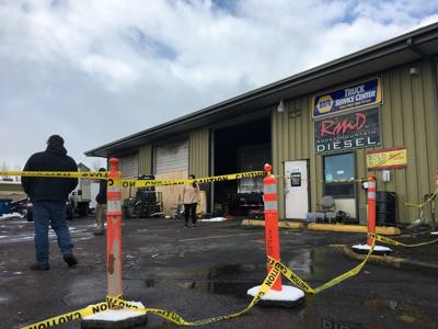 Rocky Mountain Diesel after fire