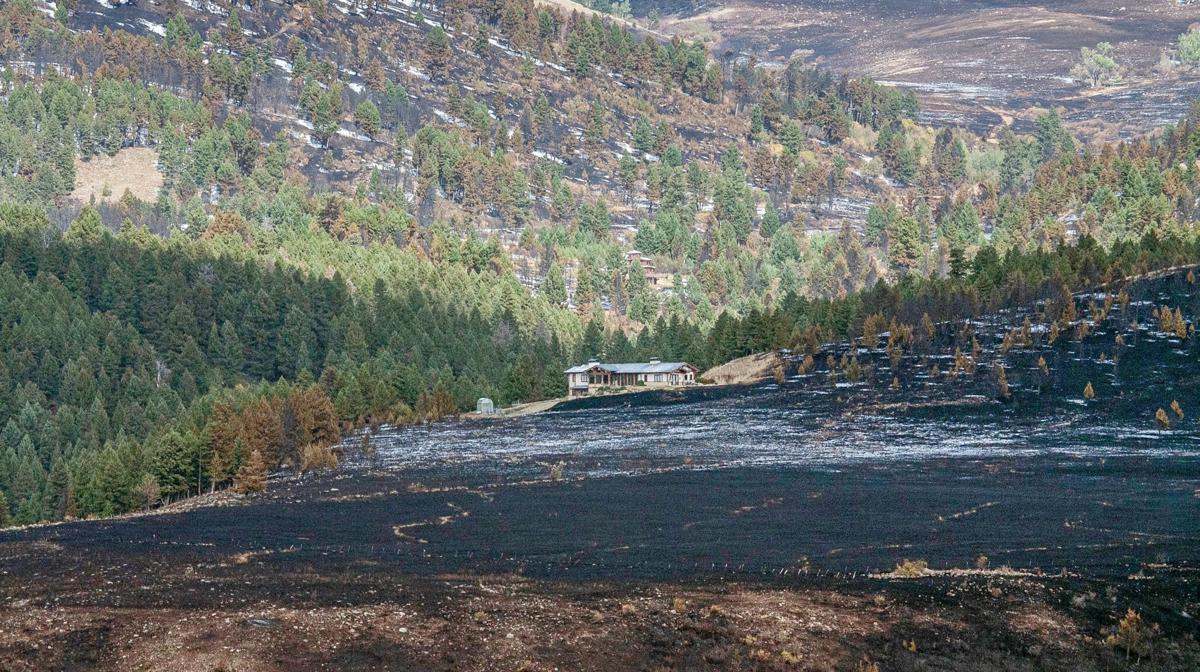 Bridger Foothills fire