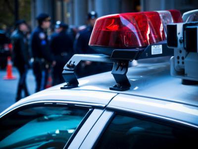 police car stockimage cops siren crime icon emergency law enforcement