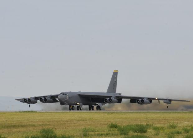 A B-52 Stratofortress
