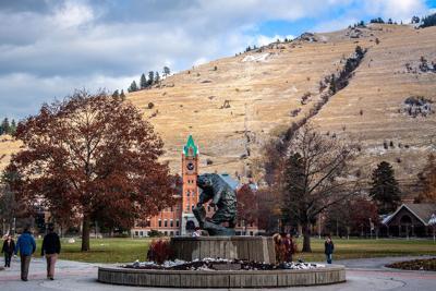 UM University of Montana campus