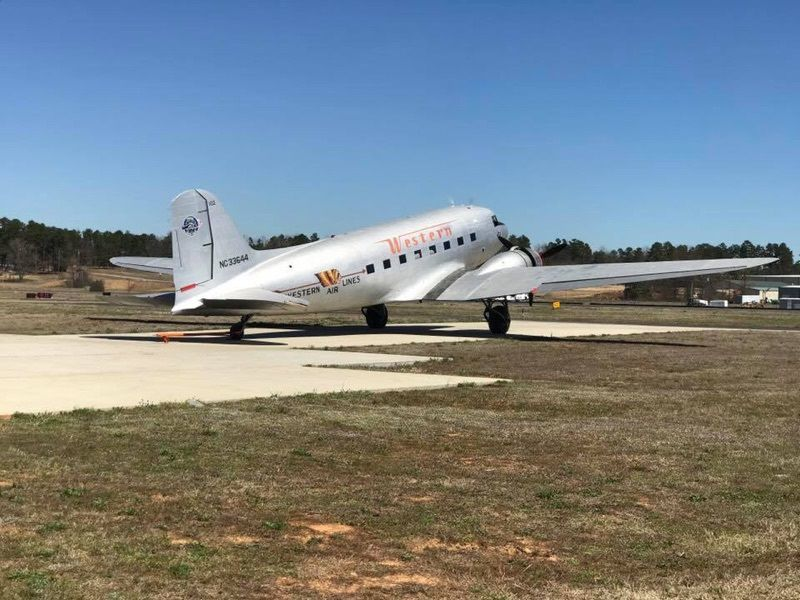 1941 Western Airlines DC-3