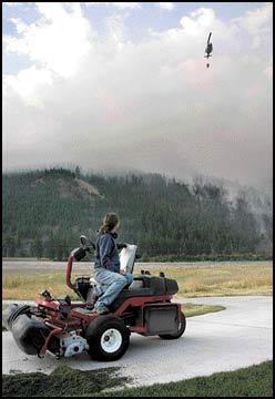 Rapid response: Crews quickly gain control of Mount Sentinel blaze