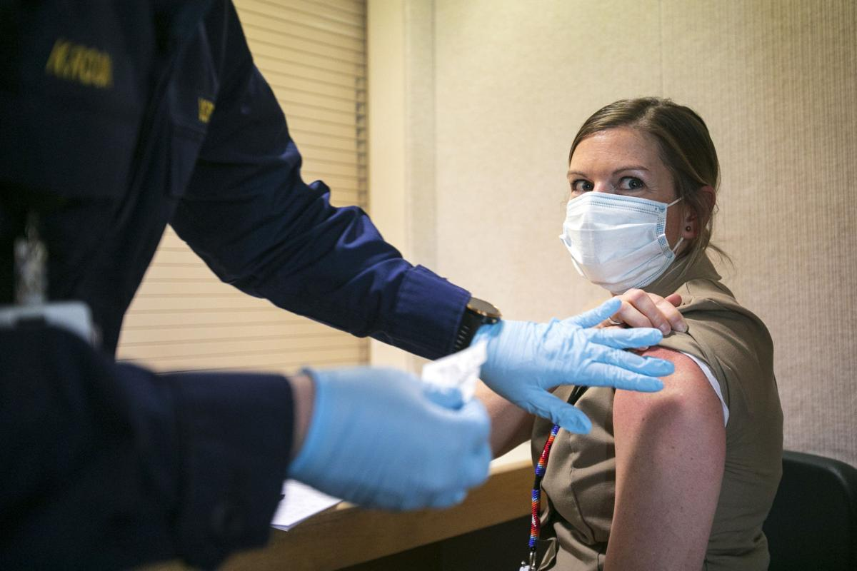 Vaccines administered on Crow reservation